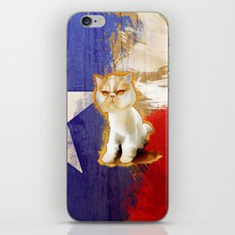 Texan HeySeymour   iPhone Skin