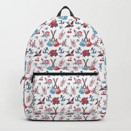 Old School Tattoo Love Rock Backpack