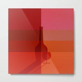 ELIXIRS / Cognac Metal Print
