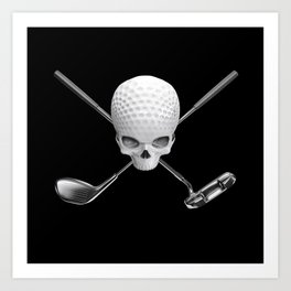 Fairway to Hell Art Print