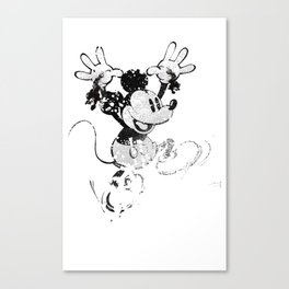 Hail to the Rat Canvas Print