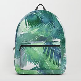 Watercolor Tropical Backpack
