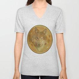 Wolf Moon Unisex V-Neck