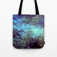 cosmic Tote Bags featuring Cosmic by Kimsey Price
