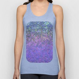 Sparkley Grunge Relief Background G181 Unisex Tank Top
