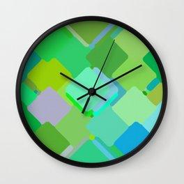 Colors#8 Wall Clock