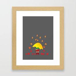 set fire II Framed Art Print