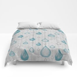 Spring Showers Comforters
