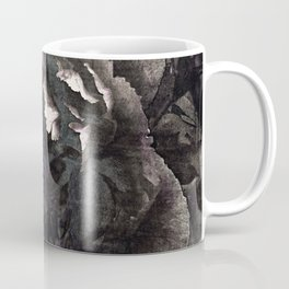 goth peony Coffee Mug
