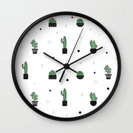Confeti succulent Wall Clock