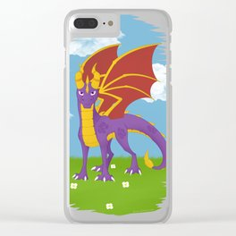Spyro The Dragon Clear iPhone Case