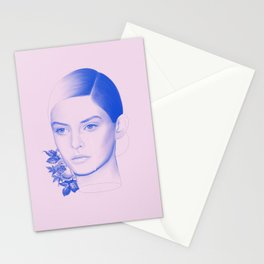 Troubled Stationery Cards