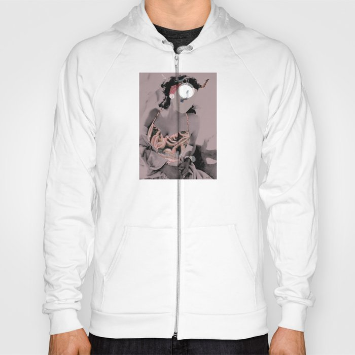 Fleisches Lust 9 - meat Collage Hoody