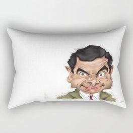 Mr. Bean Rectangular Pillow