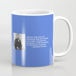 American Values Coffee Mug