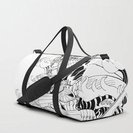 Tsunami Samurai Duffle Bag