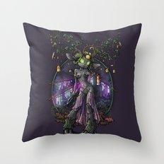 Kissiaen Priestess Throw Pillow