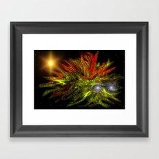 Cosmic Creature Framed Art Print
