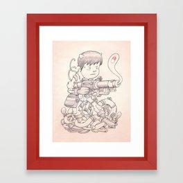 Kaneda Framed Art Print