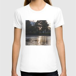 Sunset over River Ness Inverness T-shirt