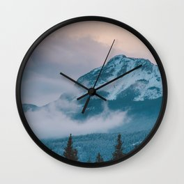 Icefields Parkway, AB Wall Clock