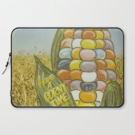 Have a Corny Time Laptop Sleeve