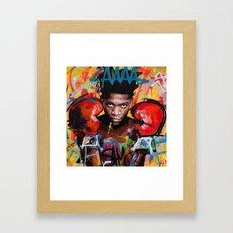 Jean-Michel Basquiat-ART Framed Art Print