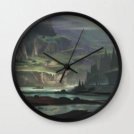 Ravine Wall Clock