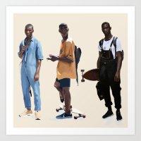 Adonis Bosso Looks Art Print