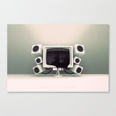 Liquid Crystal Display Canvas Print