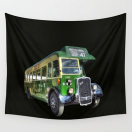 Vintage Bus Wall Tapestry