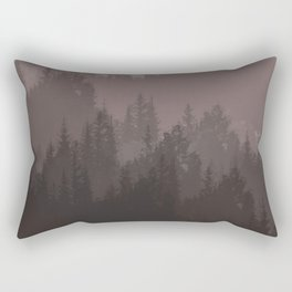 The cold forest Rectangular Pillow