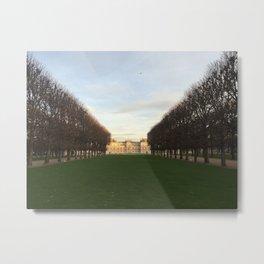 Luxemburg Gardens Metal Print