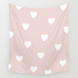 Heart Patter - Baby Pattern Wall Tapestry
