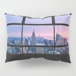 New York City Skyline Views Pillow Sham