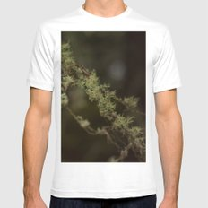 Branches White MEDIUM Mens Fitted Tee