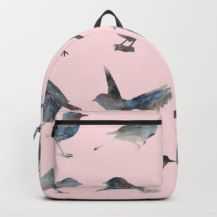 Sparrow Catalog Pink Backpack