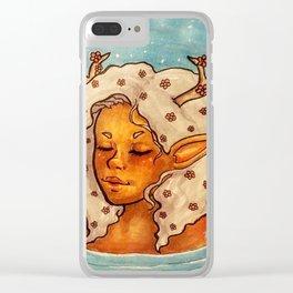 Dreamy dip Clear iPhone Case