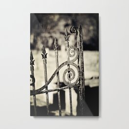 Rusted Whimsy Metal Print