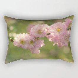 Almondblossoms in LOVE - Cherryblossom Flower Floral Rectangular Pillow