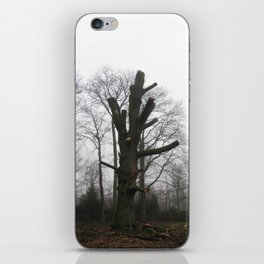 unarmed tree. iPhone Skin