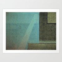 aquarius Art Prints featuring Aquarius by Fernando Vieira