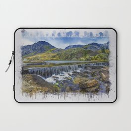 Snowdonia Tryfan Painting Laptop Sleeve