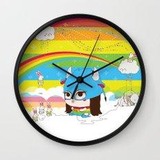 Buffa Buffalina Wall Clock