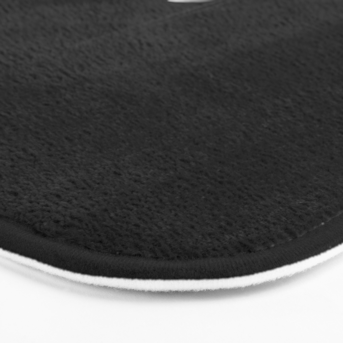 Back in Black Bath Mat