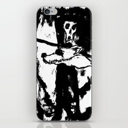 Dandy Fox Demonix (In Black Distortion) iPhone Skin