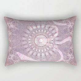 mandala madness with OM Rectangular Pillow