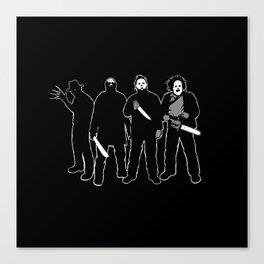 The Slashers! Canvas Print
