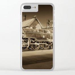 Loco Motion Clear iPhone Case