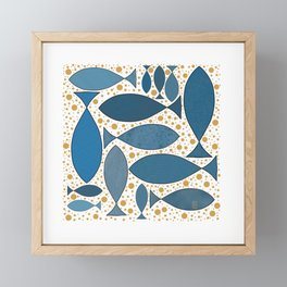 Fish Framed Mini Art Print